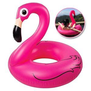 Schwimmtier Flamingo Aufblasbar Badeinsel Schwimmreifen Schwimminsel Schwimmring