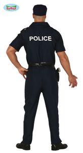 Fiestas Guirca kostüm Polizei Männer Polyester blau mt L