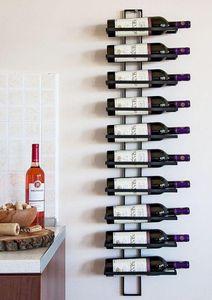 DanDiBo Weinregal Dies 116 cm aus Metall für 10 Flaschen Flaschenständer Wandregal Flaschenregal Wand