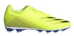 adidas Performance Kinder Fussball-Nocken-Schuhe X GHOSTED.4 FxG J gelb, Größe:34