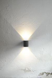 Nordlux Wandlampe Canto, Schwarz, Ip44, 77571003