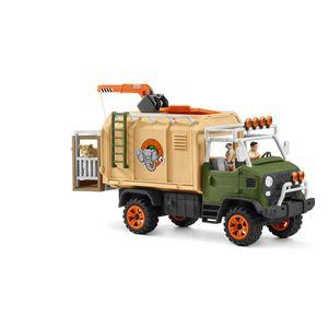 Schleich® Wild Life Großer Truck Tierrettung 42475