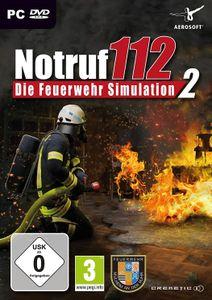 Notruf 112 - Die Feuerwehr Simulation 2 - CD-ROM DVDBox
