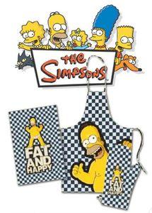 Simpsons Homer Grillset 3tlg. Schürze + Handtuch + Handschuh Küchenset