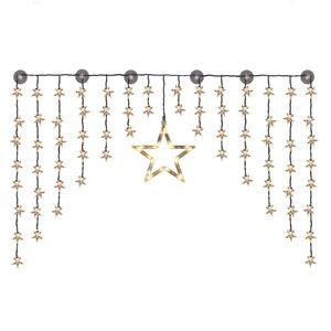 HI Sternen-Lichtervorhang Fairy mit 90 LEDs