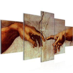 Creation of Adam MichelAngelo BILD :200x100 cm − FOTOGRAFIE AUF VLIES LEINWANDBILD XXL DEKORATION WANDBILDER MODERN KUNSTDRUCK MEHRTEILIG 700151a