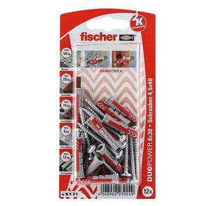 FISCHER Universaldübel Duopower 6x30 S PH K (12 Stk)