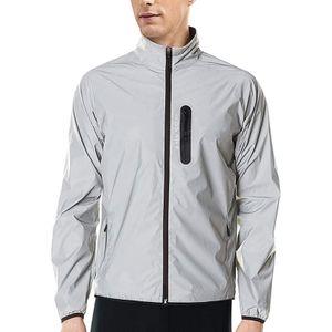 1 Stück reflektierende Jacke Größe XXXL