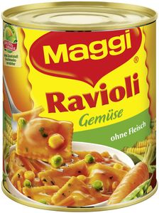 Maggi Gemüse Ravioli ohne Fleisch, Dose, 2 Port. (800 g)