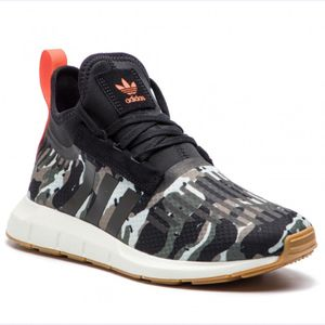 adidas Originals Swift Run Barrier - Herren Schuhe Camouflage Military B42234 , Größe: EU 40 UK 6.5