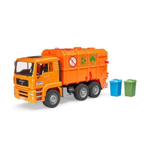 Bruder 02760 MAN TGA Müll-LKW orange