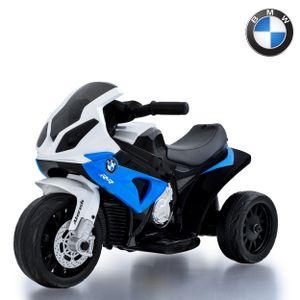BMW S1000RR Kinder Elektromotorrad Blau