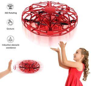 Geschenke zum 5-8 Jahre alt Mädchen Fliegender Ball Spielzeuge Mini Drohne für Kinder Handgesteuert RC Spielzeuge Air Magic Hogs UFO Spielzeuge mit LED Beleuchtung zum Kinder