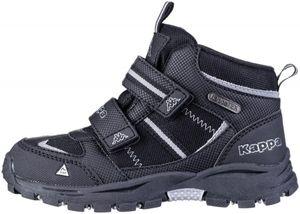 KAPPA Hovet Tex Jungen Winter Synthetik Boots black, Kappa Tex Waterproof Austattung