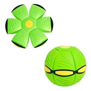 Magischer UFO-Ball Magisches Verformungslicht UFO-Spielzeug, Spielzeug für Kinder im Freien(grün)