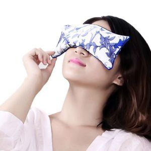 Seide Augenkissen Yoga mit Lavendel Schlafmaske Augenmaske für Entspannung Meditation