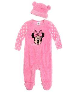 Disney Minnie Babyanzug und Mützchen pink