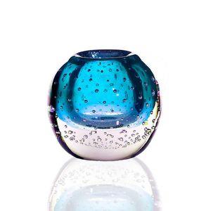 Kugelvase (10cm), blau
