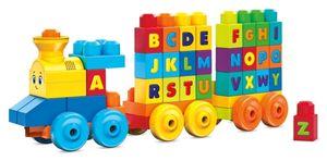 Mega Bloks ABC Musikzug mit Geräuschen (50 Teile)