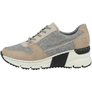 Rieker Damen Sneaker Beige , Schuhgröße:EUR 38