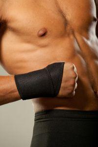 LOREY - Hochwertige Handbandage aus Neopren, Handgelenkbandage, Handgelenkstütze