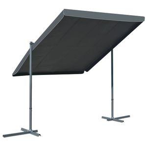 dereoir Standmarkise Kippbares & Einziehbares Dach 350×250×225 cm