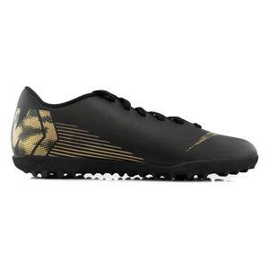 Nike Jr Vaporx 12 Club Gs Tf Black/Mtlc Vivid Gold 36
