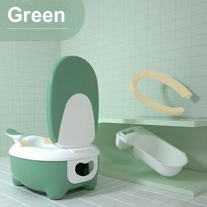 Töpfchen Lerntöpfchen Potty Baby WC Kindertoilette Toilettentrainer Toilettensit -Green