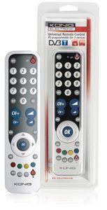 König Universalfernbedienung PC-programmierbar für 2 Geräte KN-EASYPRO20B