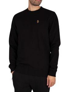 Luke 1977 Herren London Sweatshirt, Schwarz XL