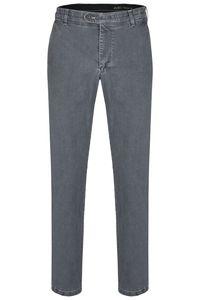 aubi: Perfect Fit Herren Sommer Jeans Hose Stretch aus Baumwolle High Flex, Modell 526, Art. 19986, grey, Größe 27