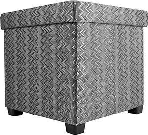 Echtwerk Sitzwürfel/Aufbewahrungsbox 'OutdoorCube' , Farbe:Grau