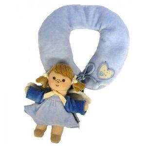 Sterntaler 34094-310 Baby- Nackenstütze Schutzengel, blau