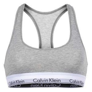 Calvin Klein Damen BH Bralette Modern Cotton grey heather L