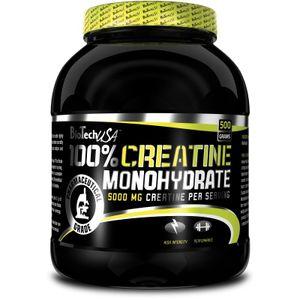 Biotech USA 100% Creatine Monohydrate 500g Dose