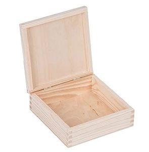 Allzweckkiste Holzkiste mit Deckel Holzschachtel Holzbox Aufbewahrungsbox Holzkisten Aufbewahrungskiste Holz Schachtel Schatzkästchen