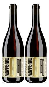 Kolonne Null Rouge 2er Set Alkoholfreier Rouge N°1 Rotwein mit Korken 2x0,75L