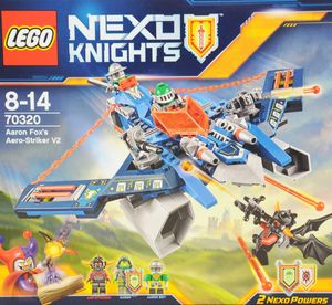 LEGO® Nexo Knights Aaron Fox's Aero-Flieger V2, 70320