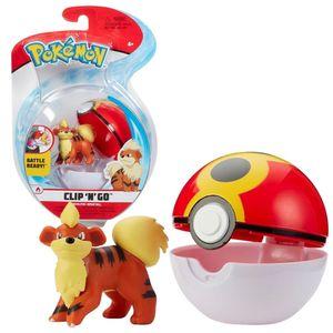 Spielfigur mit Pokeball zur Auswahl | Pokemon | Clip N Go | Action-Figuren, Spielfigur:Fukano