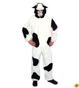Tierkostüm Kuh, Overall gefleckt
