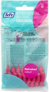 TePe Interdentalbürsten Original Pink 0,4 mm, Packung mit 8 Stück