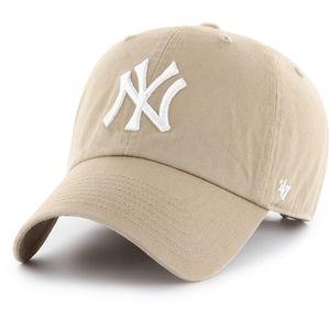 47 Brand Clean Up Strapback NY YANKEES RGW17GWSNL-KHC Khaki Weiß, Size:Onesize