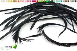3g Gänse Biots 10-18cm, Farbauswahl:schwarz 030
