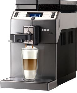 Saeco RI9851/01 Lirika One Touch Kaffeevollautomat titan