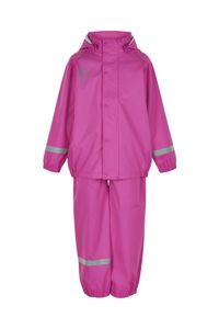 Color Kids - Regenanzug für Mädchen - Uni - Rosa Violett, 92