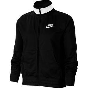 Nike W Nsw Hrtg Jkt Pk Black/White L