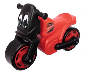 BIG Outdoor Spielzeug Fahrzeug Laufrad Motorrad Racing Bike rot 800056387