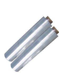 Strechfolie-2 Rollen-neu-23 My--500 mm/200 m Paketfolie reißfest Palette wickeln Stretchfolie