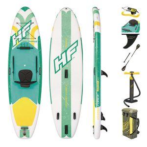 Bestway Touring Board SUP 340cm aufblasbar Stand Up Paddle Surfboard ISUP Paddling + Paddel