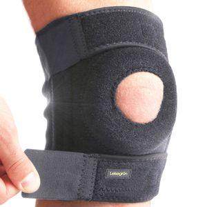 Kniebandage, Kniegelenk-Bandage Knieschoner mit Funktionspolster Sport
